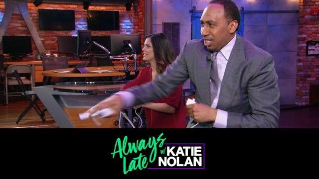 Mon, 11/19 - Always Late w/ Katie Nolan: Wii Boxing w/ Stephen A. Smith