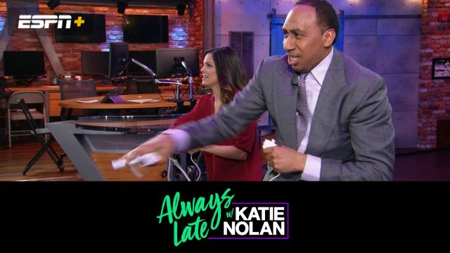 Mon, 11/19 - Always Late w/ Katie Nolan: Wii Boxing w/ Stephen A. Smith