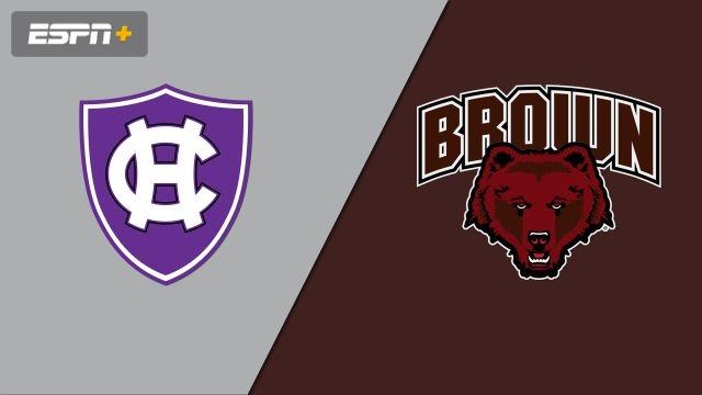 Holy Cross vs. Brown (M Soccer)