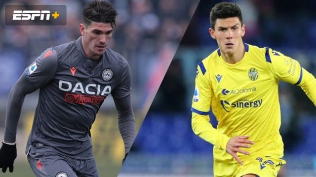 In Spanish-Udinese vs. Hellas Verona (Serie A)