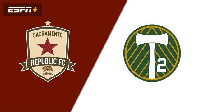 Sacramento Republic FC vs. Portland Timbers 2 (USL Championship)
