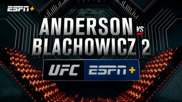 UFC Fight Night Pre-Show: Anderson vs. Blachowicz 2