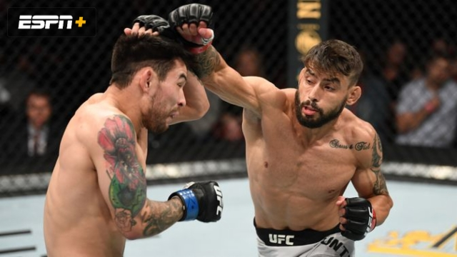 Rogerio Bontorin vs. Ray Borg (UFC Fight Night: Anderson vs. Blachowicz 2)