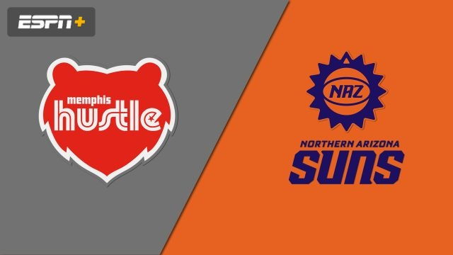 Memphis Hustle vs. Northern Arizona Suns