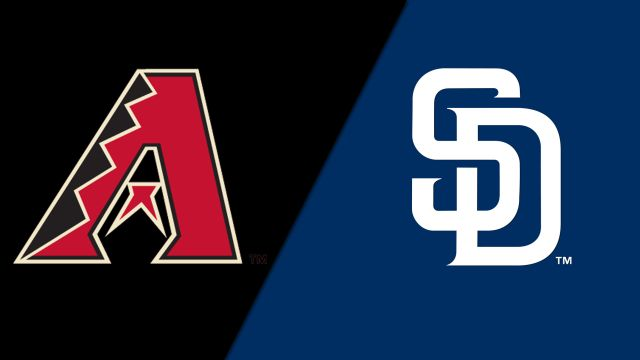 Arizona Diamondbacks vs. San Diego Padres