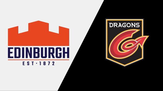Edinburgh vs. Dragons (Guinness PRO14 Rugby)