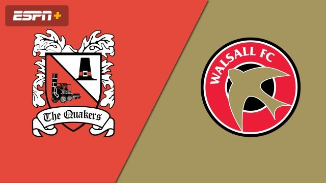 Darlington vs. Walsall (FA Cup - First Round 2nd Leg)