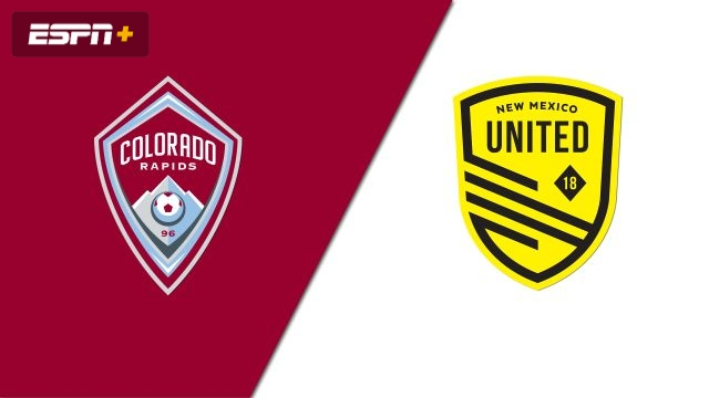 Colorado Rapids vs. New Mexico United (Fourth Round) (U.S. Open Cup)