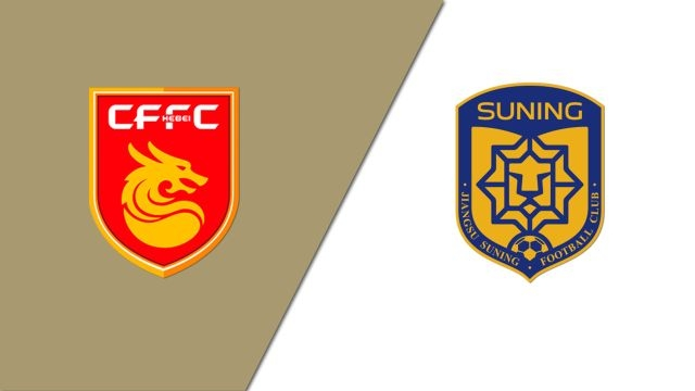 Hebei China Fortune FC vs. Jiangsu Suning FC (Chinese Super League)