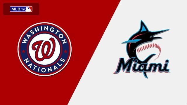 Washington Nationals vs. Miami Marlins