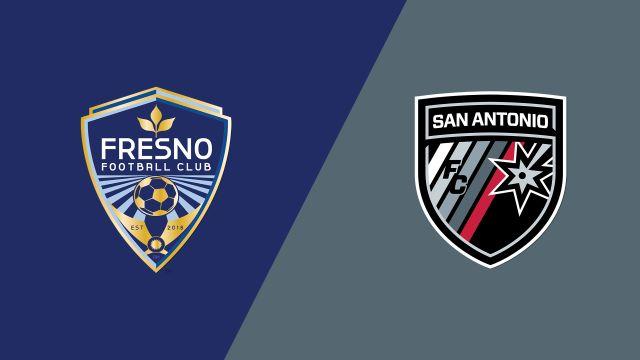 Fresno FC vs. San Antonio FC