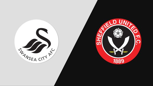 Swansea City vs. Sheffield United (English League Championship)