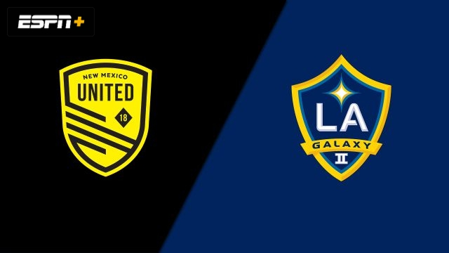 New Mexico United vs. LA Galaxy II (USL Championship)