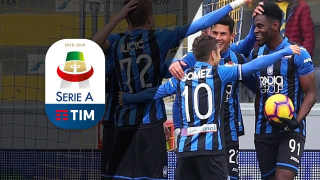 Sun, 1/20 - Serie A Weekly Highlight Show: Zapata nets four for Atalanta