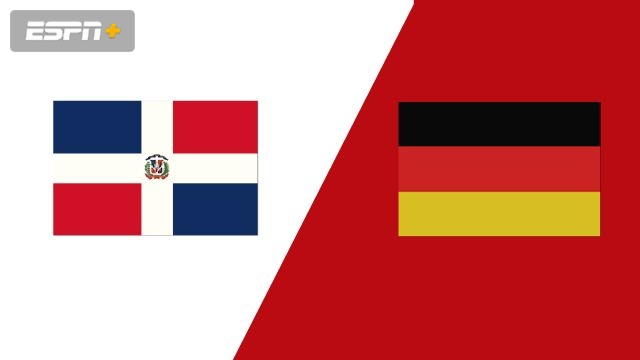 Dominican Republic vs. Germany (Group Phase)