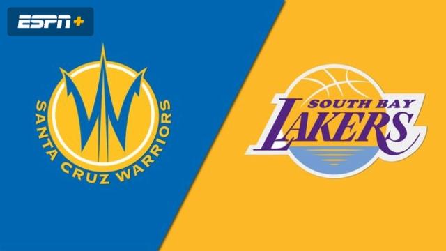 Santa Cruz Warriors vs. South Bay Lakers