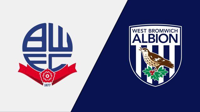 Bolton Wanderers vs. West Bromwich Albion (English League Championship)