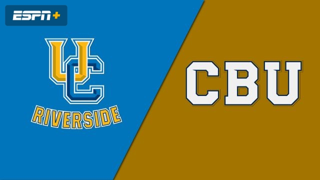 UC Riverside vs. California Baptist (M Basketball)