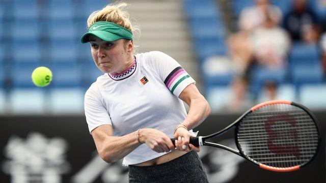 (6) Svitolina vs. Kuzmova (Women's Second Round)