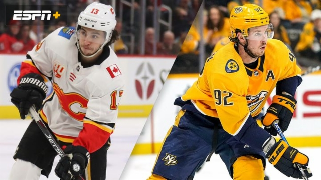 Calgary Flames vs. Nashville Predators