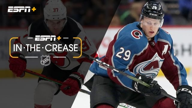 Sat, 12/14 - In the Crease: MacKinnon hits 50-point mark