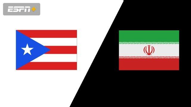Puerto Rico vs. Iran (Group Phase)