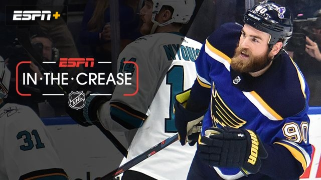 Wed, 5/22 - In the Crease: Blues look to end series with Sharks