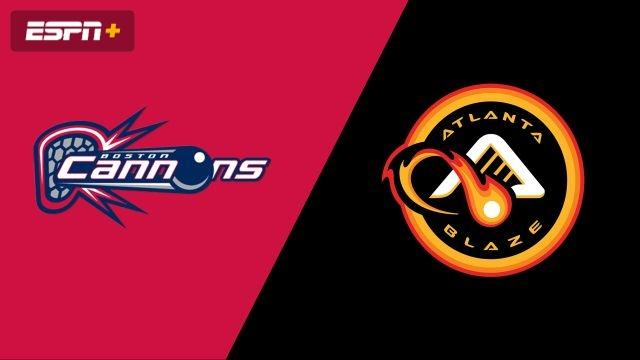 Boston Cannons vs. Atlanta Blaze (Major League Lacrosse)