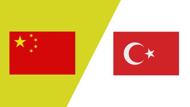 China vs. Turkey (2018 FIL World Lacrosse Championships)