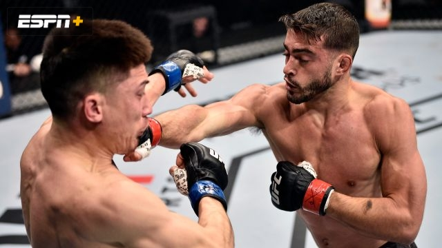 Randy Costa vs. Boston Salmon (UFC Fight Night: Reyes vs. Weidman)