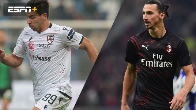 In Spanish-Cagliari vs. AC Milan (Serie A)