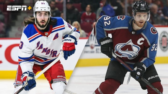 New York Rangers vs. Colorado Avalanche
