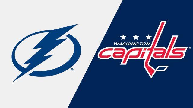 In Canadian French-Tampa Bay Lightning vs. Washington Capitals