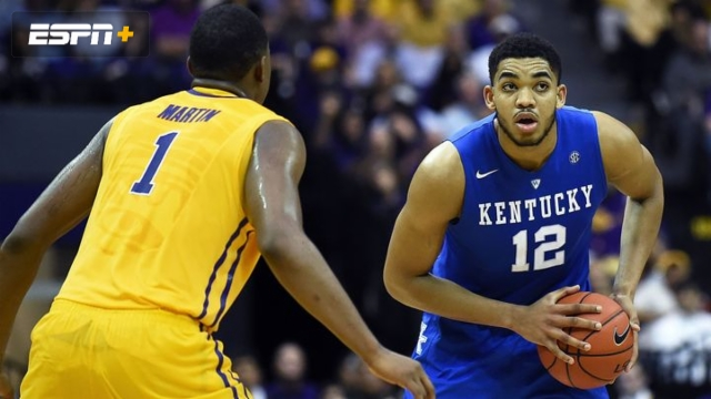 Kentucky vs. LSU (M Basketball) (2015 SEC Regular Season)