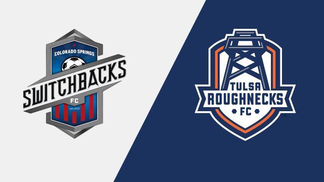 Colorado Springs Switchbacks FC vs. Tulsa Roughnecks FC