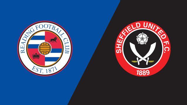 Reading vs. Sheffield United (English League Championship)