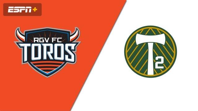 Rio Grande Valley FC Toros vs. Portland Timbers 2 (USL Championship)