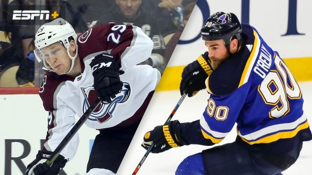 Colorado Avalanche vs. St. Louis Blues