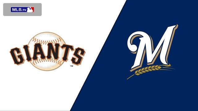 San Francisco Giants vs. Milwaukee Brewers