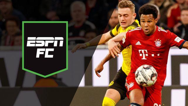 Sat, 4/6 - ESPN FC: Bayern battle Dortmund