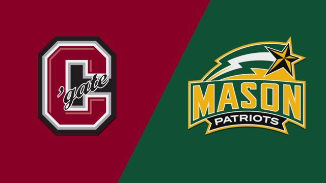 Colgate vs. George Mason (W Basketball)