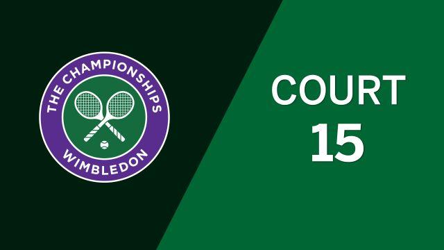 (6) Roger-Vasselin/Sestini Hlavackova vs. Mahut vs. Svitolina (Mixed Doubles Second Round)