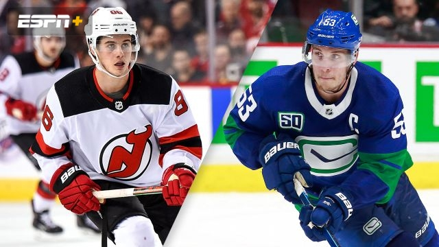 New Jersey Devils vs. Vancouver Canucks