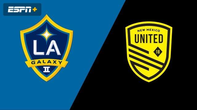 LA Galaxy II vs. New Mexico United (USL Championship)