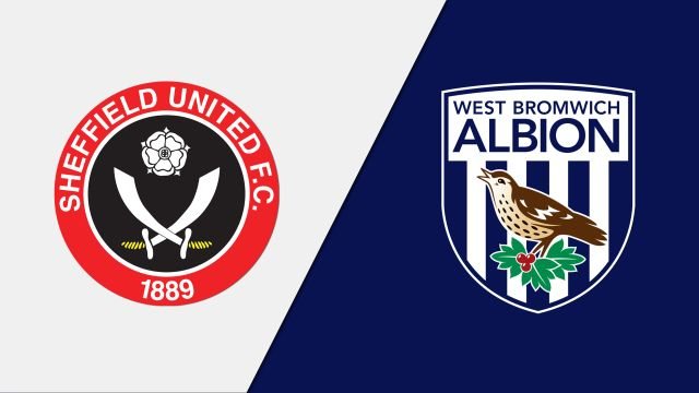 Sheffield United vs. West Bromwich Albion (English League Championship)