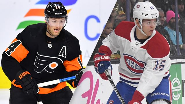 Philadelphia Flyers vs. Montreal Canadiens