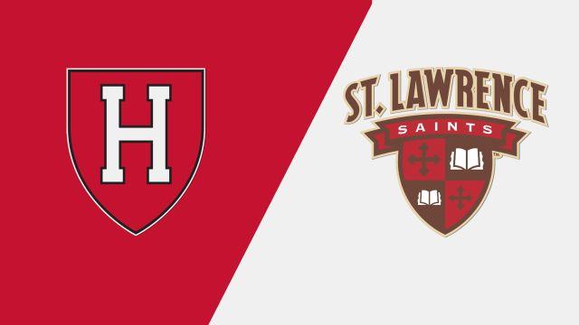 #15 Harvard vs. St. Lawrence (M Hockey)
