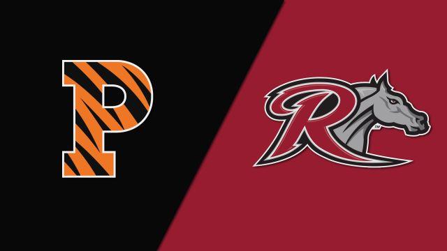 Princeton vs. Rider (M Soccer)