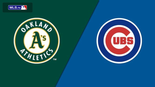 Oakland Athletics vs. Chicago Cubs