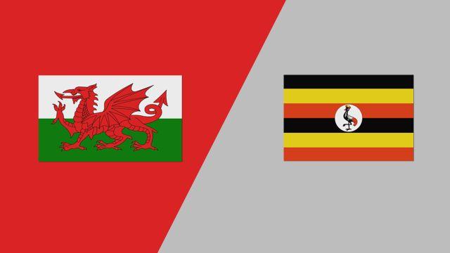 Wales vs. Uganda (2018 FIL World Lacrosse Championships)